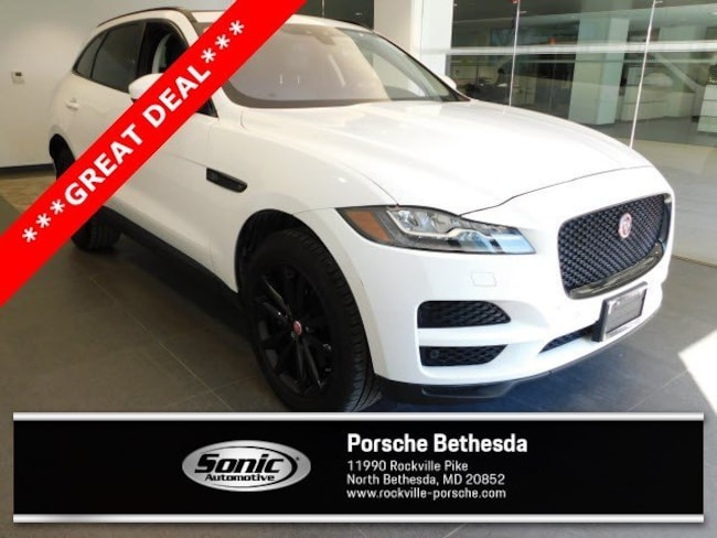 Used 2017 Jaguar F-PACE 35t Prestige  AWD SUV for sale in Rockville, MD