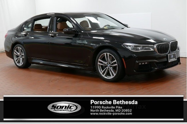 Used 2016 BMW 750i 750i Xdrive 4dr Sdn  AWD Sedan for sale in Rockville, MD