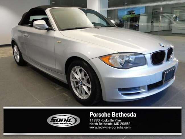 Used 2011 BMW 128i 128i 2dr Conv  Sulev Convertible for sale in Rockville, MD