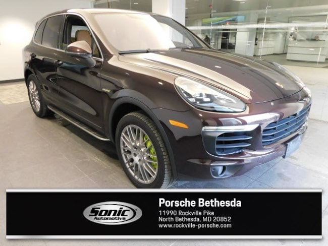Used 2016 Porsche Cayenne E-Hybrid S E-Hybrid AWD 4dr SUV for sale in Rockville, MD
