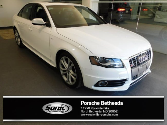 Used 2012 Audi S4 Premium Plus 4dr Sdn S Tronic Sedan for sale in Rockville, MD