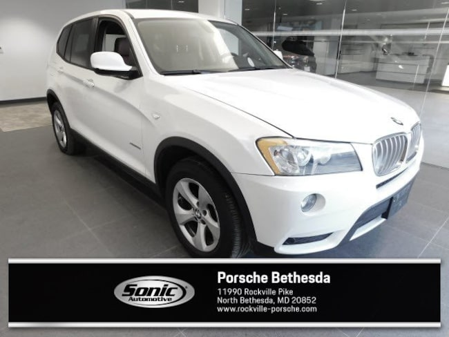 Used 2012 BMW X3 xDrive28i 28i AWD 4dr SAV for sale in Rockville, MD