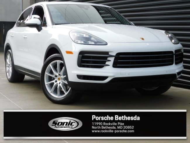 New 2019 Porsche Cayenne SUV for sale in Rockville, MD