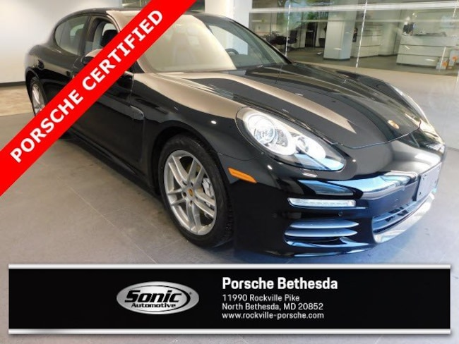 Certified Pre-Owned 2016 Porsche Panamera 4 Edition 4dr HB Sport Turismo for sale in Rockville, MD