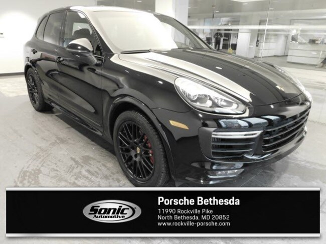 Used 2018 Porsche Cayenne GTS  AWD SUV for sale in Rockville, MD