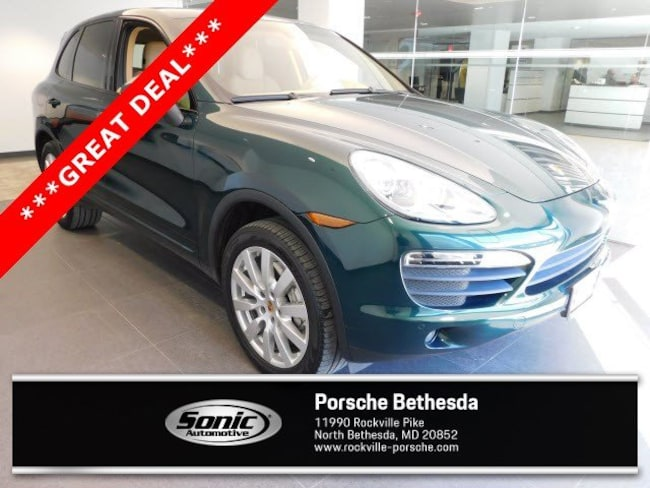 Used 2014 Porsche Cayenne S AWD 4dr SUV for sale in Rockville, MD
