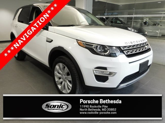 Used 2016 Land Rover Discovery Sport HSE LUX AWD 4dr SUV for sale in Rockville, MD