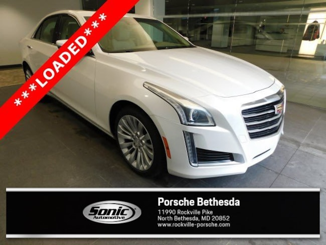 Used 2016 CADILLAC CTS Luxury Collection AWD 4dr Sdn 2.0L Turbo Sedan for sale in Rockville, MD