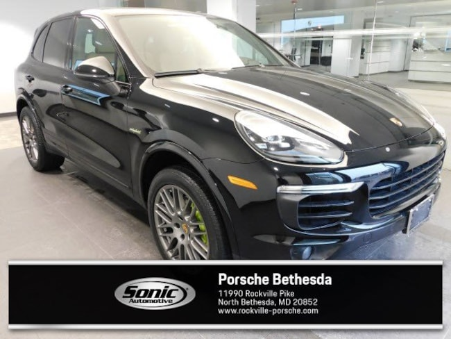 Certified Pre-Owned 2018 Porsche Cayenne E-Hybrid S Platinum Edition E-Hybrid  AWD SUV for sale in Rockville, MD