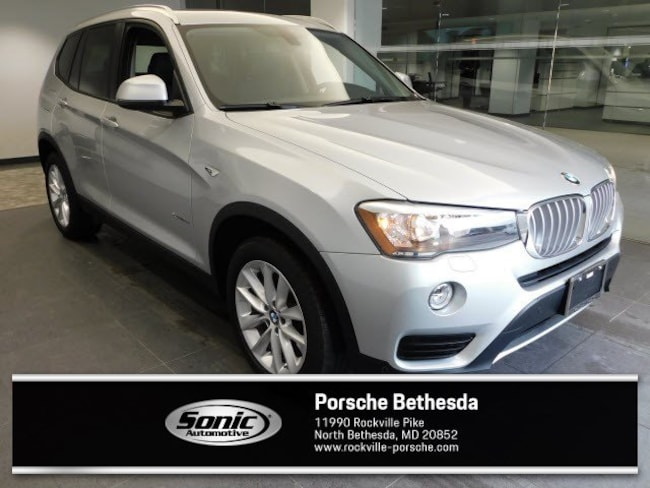 Used 2015 BMW X3 Xdrive28i AWD 4dr SAV for sale in Rockville, MD