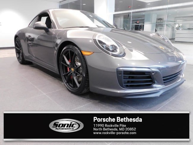 New 2019 Porsche 911 Carrera 4S Coupe for sale in Rockville, MD