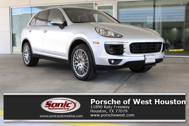 New 2018 Porsche Cayenne S SUV Executive Demo in Houston