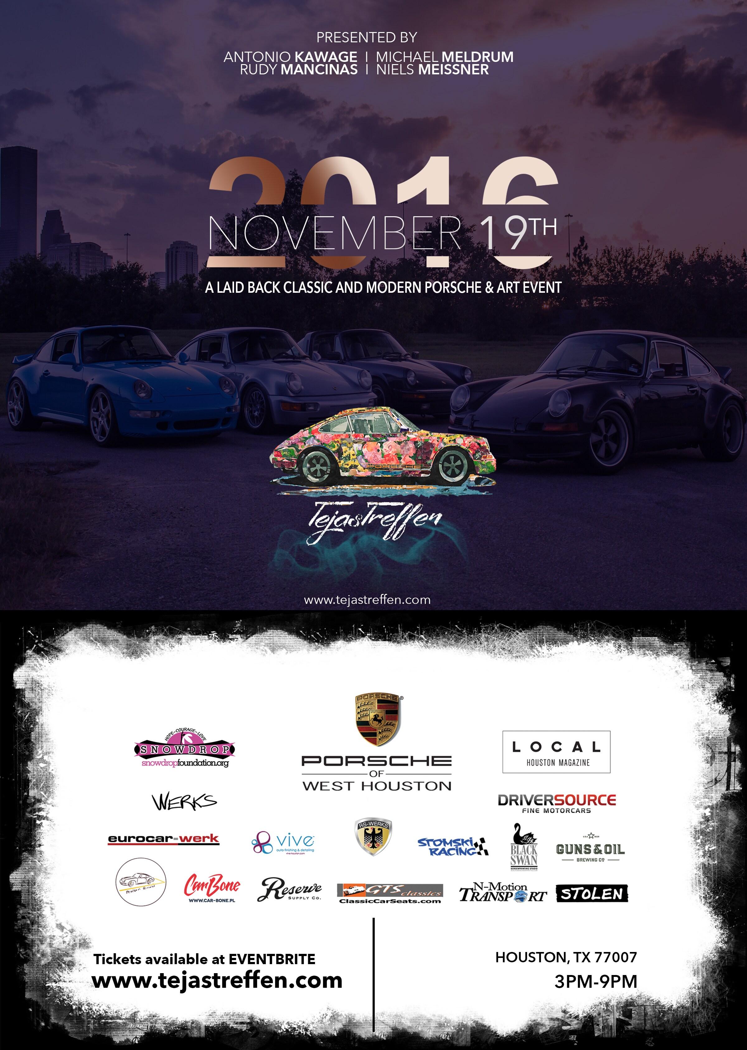 Porsche Of West Houston Tejas Treffen