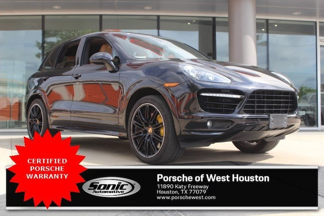 Certified Pre-Owned 2014 Porsche Cayenne Turbo S SUV for sale in Houston, TX