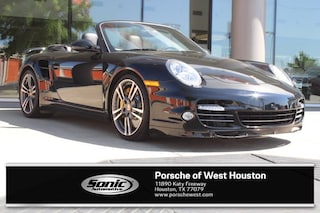 Certified Pre-Owned 2012 Porsche 911 S Turbo Black Cabriolet for sale in Houston, TX