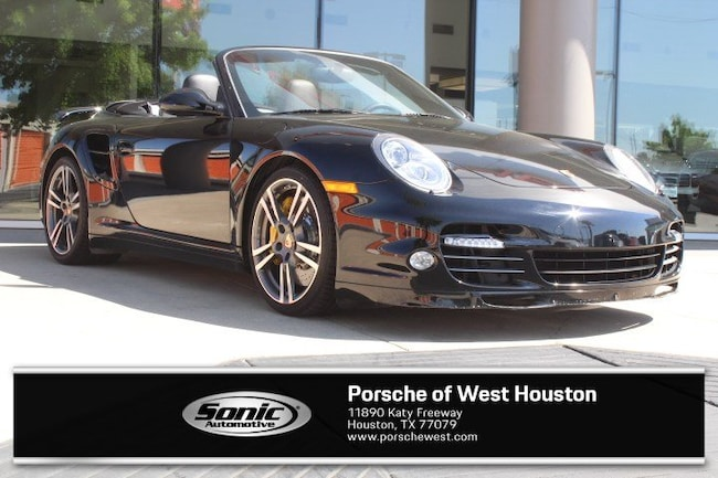 Certified Pre-Owned 2012 Porsche 911 S Turbo Cabriolet for sale in Houston, TX