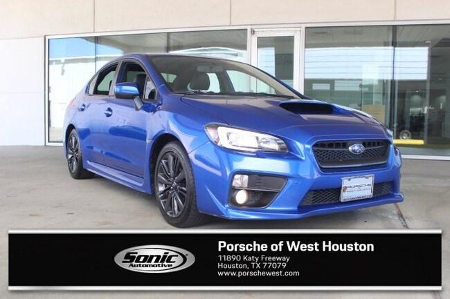Used 2015 Subaru WRX Limited Sedan for sale in Houston, TX