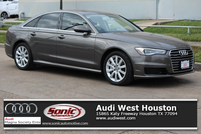 Used 2016 Audi A6 2.0T Premium Plus Sedan for sale in Houston