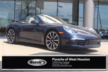 2013 Porsche 911 Carrera S Blue Cabriolet