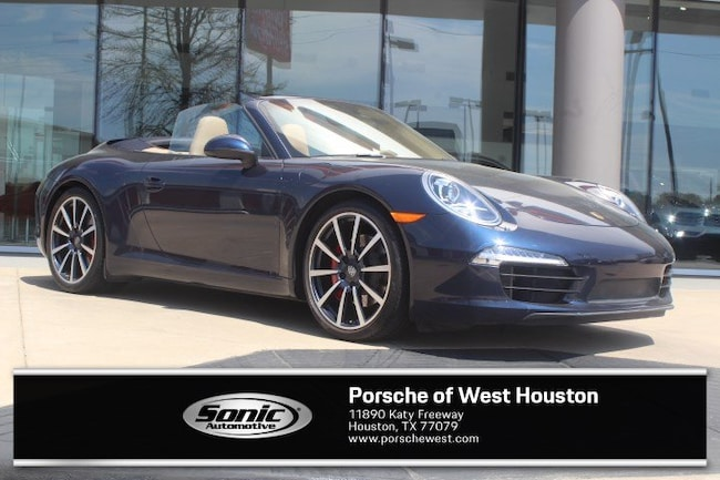 Used 2013 Porsche 911 Carrera S Cabriolet for sale in Houston, TX