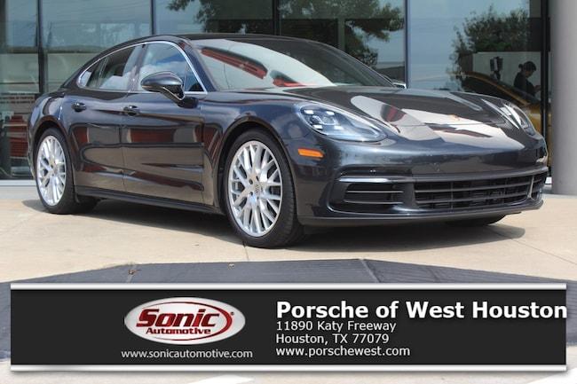 New 2018 Porsche Panamera RWD Sedan Executive Demo in Houston