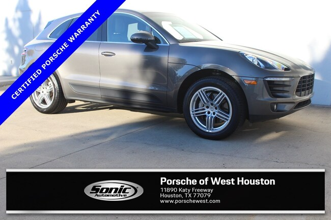 Certified Pre-Owned 2016 Porsche Macan S SUV for sale in Houston, TX