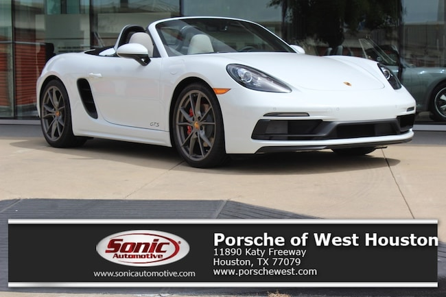New 2018 Porsche 718 Boxster GTS Cabriolet in Houston