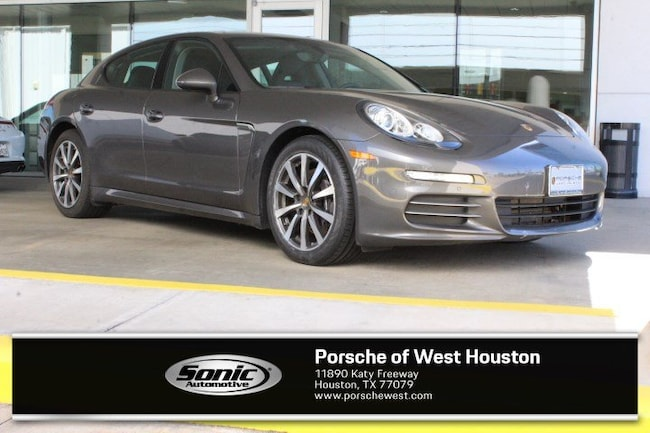 Certified Pre-Owned 2016 Porsche Panamera 4 Sport Turismo for sale in Houston, TX