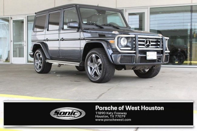 Used 2016 Mercedes-Benz G-Class G 550 SUV for sale in Houston, TX