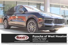 New 2019 Porsche Cayenne S SUV for sale in Houston