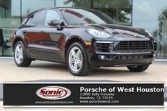 New 2018 Porsche Macan AWD SUV Executive Demo for sale in Houston