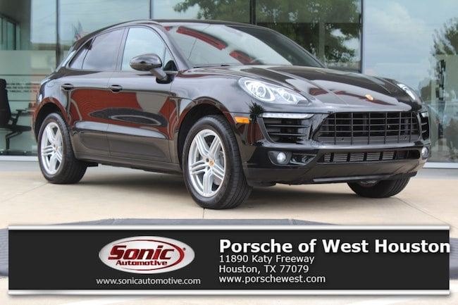 New 2018 Porsche Macan AWD SUV Executive Demo in Houston