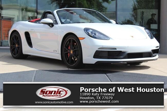 New 2018 Porsche 718 Boxster GTS Cabriolet Executive Demo in Houston
