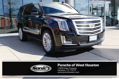Used 2016 Cadillac Escalade Platinum SUV for sale in Houston