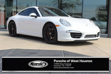 2014 Porsche 911 Carrera S White Coupe