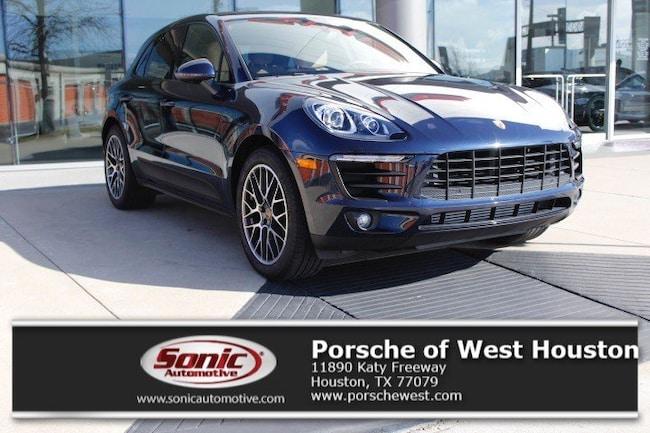 New 2018 Porsche Macan Sport Edition SUV Executive Demo in Houston