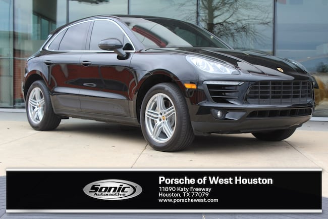 Certified Pre-Owned 2016 Porsche Macan S AWD 4dr SUV for sale in Houston, TX
