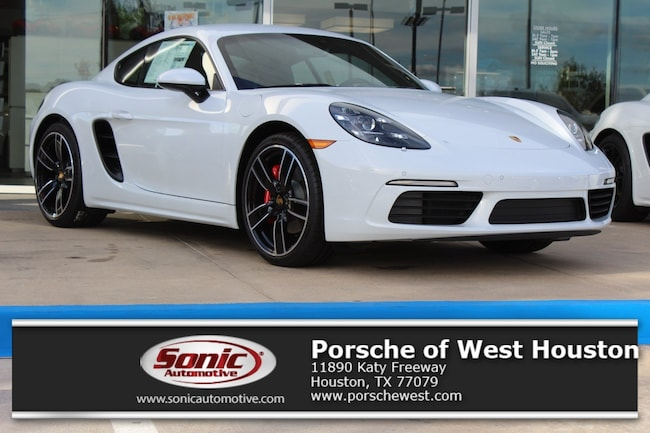 New 2018 Porsche 718 Cayman S Coupe Executive Demo in Houston