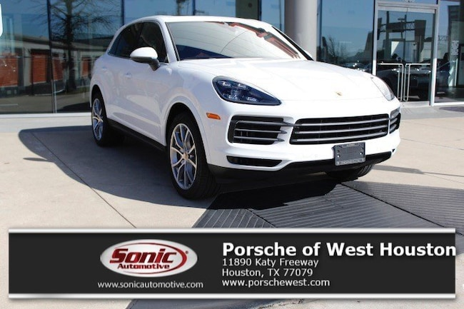 New 2019 Porsche Cayenne S SUV Executive Demo in Houston