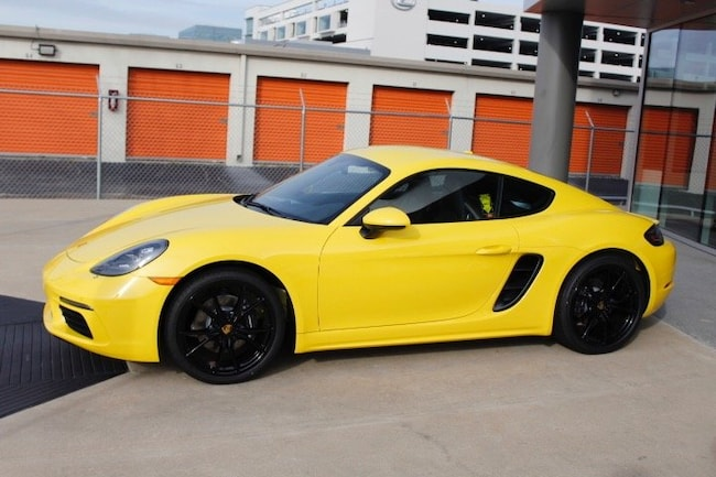 New 2019 Porsche 718 Cayman Coupe For Sale In Houston Tx