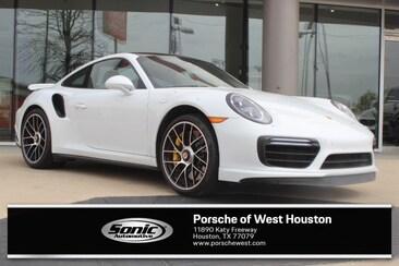 2018 Porsche 911 Turbo S White Coupe