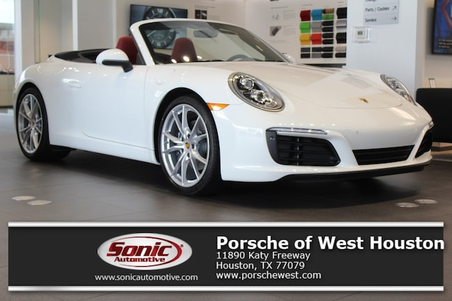 New 2019 Porsche 911 Carrera Cabriolet for sale in Houston, TX
