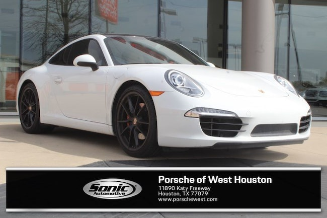 Certified Pre-Owned 2015 Porsche 911 Carrera S Coupe for sale in Houston, TX