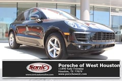 New 2018 Porsche Macan AWD SUV Executive Demo for sale in Houston
