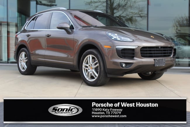 Certified Pre-Owned 2016 Porsche Cayenne AWD 4dr SUV for sale in Houston, TX
