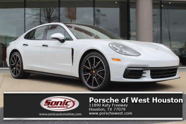 New 2018 Porsche Panamera 4S Sedan Executive Demo in Houston