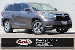 Used 2015 Toyota Highlander Limited V6 SUV near San Diego