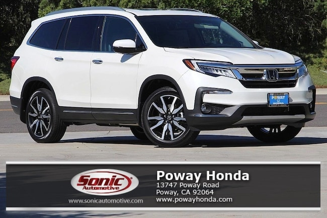 New 2019 Honda Pilot Elite AWD SUV near San Diego