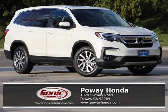 New 2019 Honda Pilot EX-L w/Navi & RES FWD SUV near San Diego