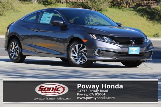 New 2019 Honda Civic LX Coupe near San Diego